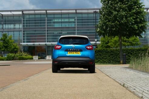 Renault Captur Review Rear - carwitter