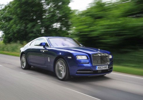 Rolls Royce Wraith Front Goodwood 2013 - carwitter