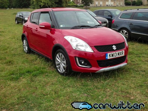 Suzuki Swift 4x4 Spotted Front Angle carwitter.jpg 491x368 - Suzuki Swift 4x4 - Spotted - Suzuki Swift 4x4 - Spotted