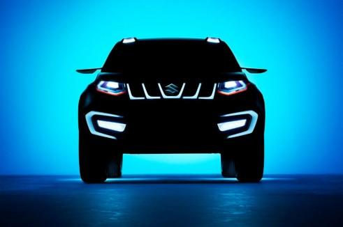 Suzuki iV 4 Concept Front carwitter 491x326 - Suzuki iV-4 Concept - Suzuki iV-4 Concept