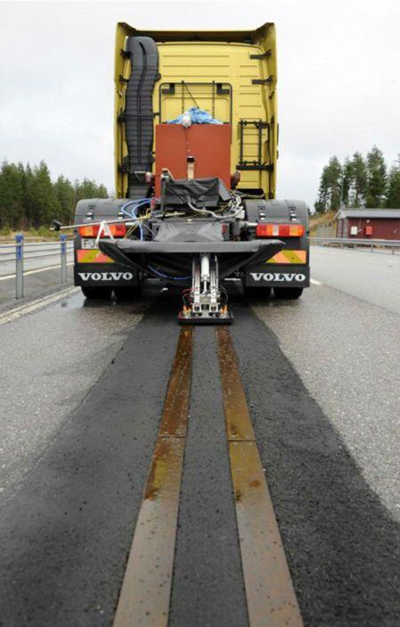 Volvo Electric Road Truck Idea