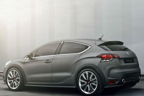 citroen ds4 racing concept side - carwitter