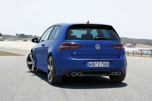 2013 Volkswagen Golf R Rear carwitter 491x327 - The Rise of the Hyper Hatch - The Rise of the Hyper Hatch
