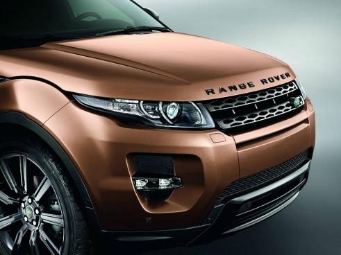 2014 Range Rover Evoque Zanzibar Bronze Front - carwitter