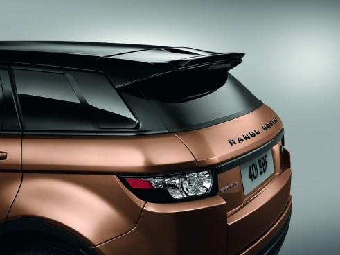 2014 Range Rover Evoque Zanzibar Bronze Rear Spoiler - carwitter