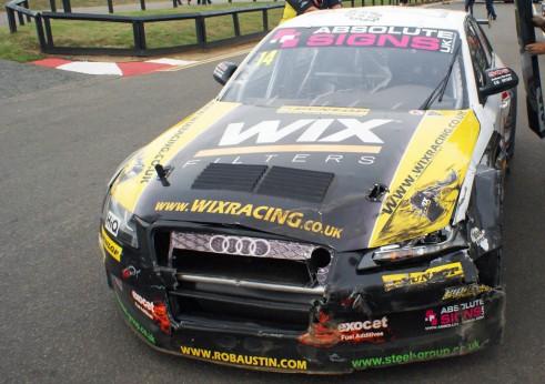 BTCC 2013 - Rob Austin Snetterton - carwitter