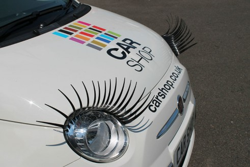 Car Headlight Eyelashes most hated car accessory - carwitter