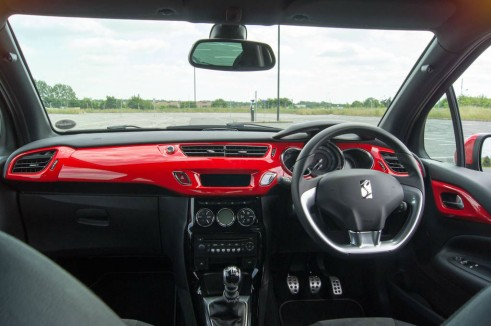 Citroen DS3 RED Review Dashboard carwitter 491x326 - Citroen DS3 DSport RED Review – Head turner - Citroen DS3 DSport RED Review – Head turner