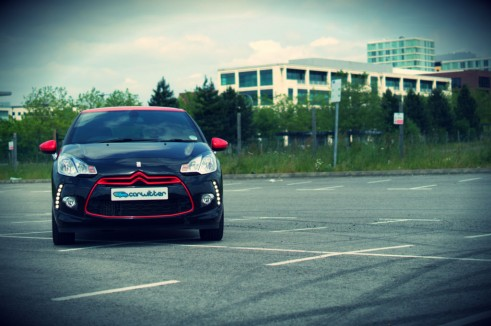 Citroen DS3 RED Review Front carwitter 491x326 - Citroen DS3 DSport RED Review – Head turner - Citroen DS3 DSport RED Review – Head turner