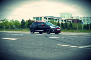 Citroen DS3 RED Review Side Angle carwitter 300x199 - Citroen DS3 DSport RED Review – Head turner - Citroen DS3 DSport RED Review – Head turner