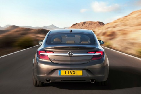 Facelift Vauxhall Insignia Rear - carwitter