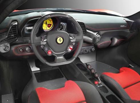 Ferrari 458 Speciale interior 2013 Frankfurt motorshow Carwitter 491x362 - Ferrari 458 Speciale - Heading to Frankfurt - Ferrari 458 Speciale - Heading to Frankfurt