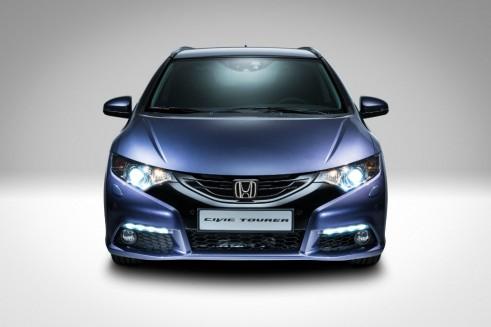 Honda Civic Tourer Front - carwitter