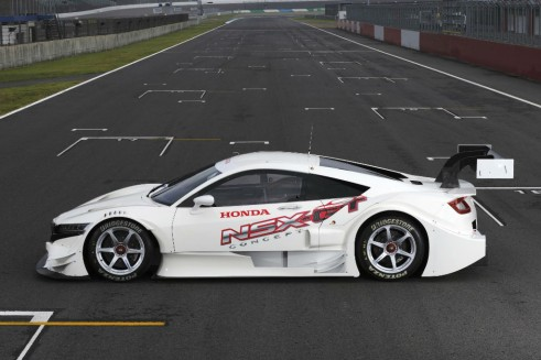 Honda NSX Concept-GT Side - carwitter