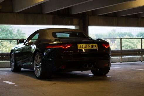 Jaguar F-Type Jalopnik Number 10 Plate UK - carwitter .jpg