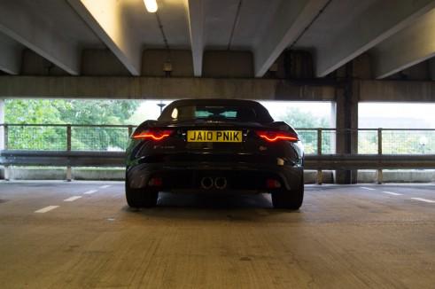 Jaguar F-Type Jalopnik Number 5 Plate UK - carwitter