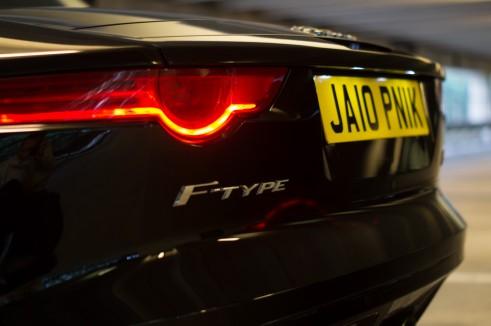 Jaguar F-Type Jalopnik Number 6 Plate UK - carwitter .jpg