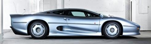 Jaguar-XJ220 profile view - Carwitter