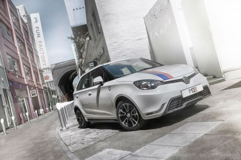 MG3 3Style Front - carwitter