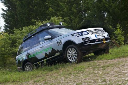 Range Rover Hybrid Front - carwitter