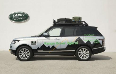 Range Rover Hybrid Side - carwitter