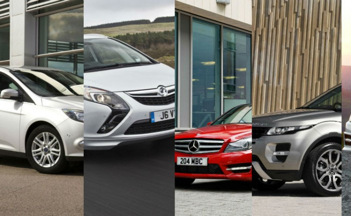 Top 5 Most Common Cars 2012 700x432 - Most common cars in the UK - 2012 - Most common cars in the UK - 2012