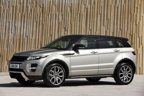Top 5 Most Common Cars 2012 Crossover Range Rover Evoque carwitter 491x327 - Most common cars in the UK - 2012 - Most common cars in the UK - 2012