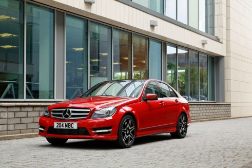 Top 5 Most Common Cars 2012 Executive Mercedes Benz C Class carwitter 491x327 - Most common cars in the UK - 2012 - Most common cars in the UK - 2012