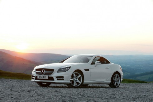Top 5 Most Common Cars 2012 Specialist Sports Mercedes Benz SLK carwitter 491x326 - Most common cars in the UK - 2012 - Most common cars in the UK - 2012