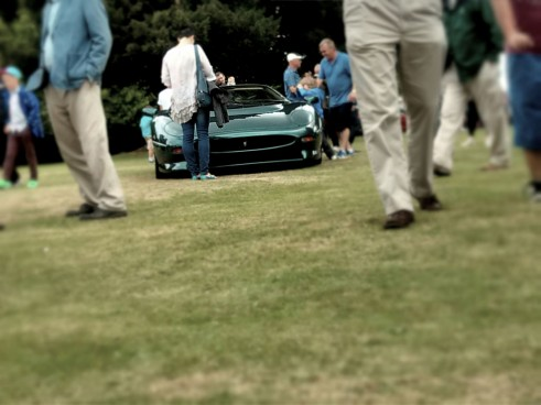 XJ220 front view - Wilton House 2013 -  Carwitter