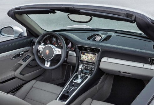 2014 Porchse 911 Turbo Cabriolet Dashboard carwitter 491x336 - 2014 Porsche 911 Turbo Cabriolet Specs & Price - 2014 Porsche 911 Turbo Cabriolet Specs & Price