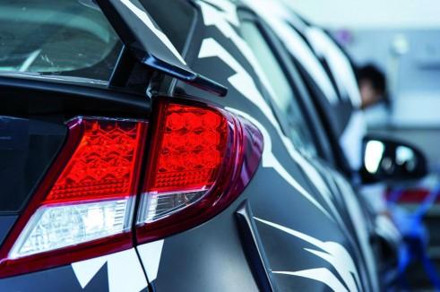 2015 Honda Civic Type R Testing Nurburgring Brake Light - carwitter