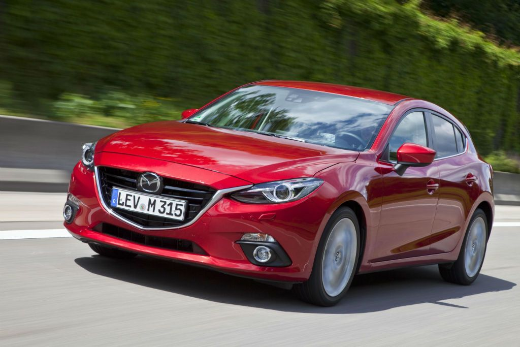 All New Mazda 3 Hatcback Front  Carwitter