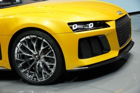 Audi Sport Quattro Concept Front Detail - Frankfurt Motor Show 2013 - carwitter