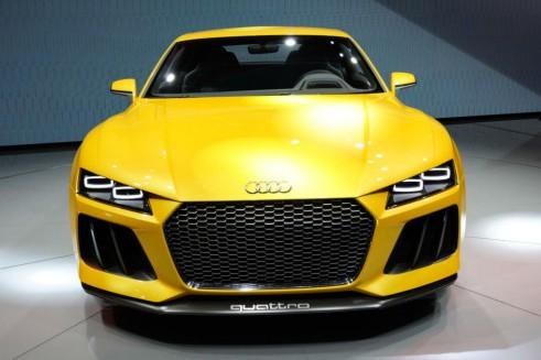 Audi Sport Quattro Concept Front - Frankfurt Motor Show 2013 - carwitter