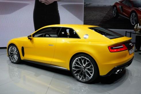 Audi Sport Quattro Concept Rear Angle - Frankfurt Motor Show 2013 - carwitter