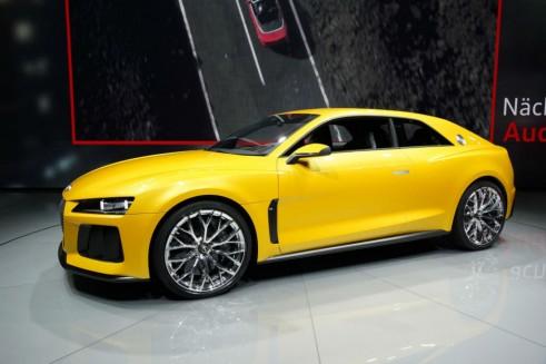 Audi Sport Quattro Concept Side - Frankfurt Motor Show 2013 - carwitter