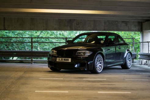 BMW 1M Front Angle - carwitter