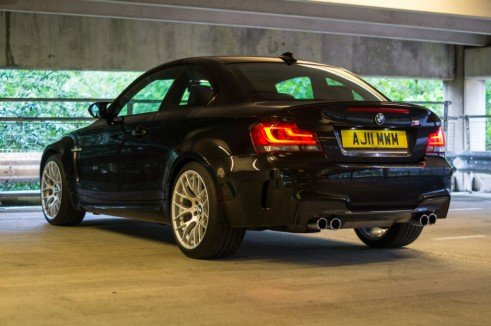 BMW 1M Rear Angle - carwitter