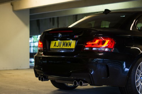 BMW 1M Rear Close - carwitter