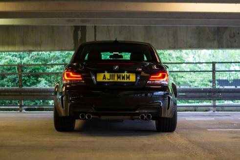 BMW 1M Rear - carwitter