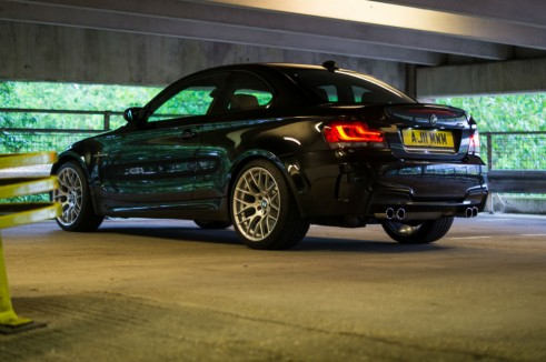 BMW 1M Side Rear - carwitter