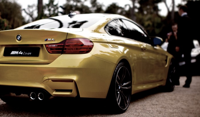 BMW M4 Coupe Rear Exhaust Carwitter 700x409 - Our thoughts - 2014 BMW M4 / M3 - Our thoughts - 2014 BMW M4 / M3