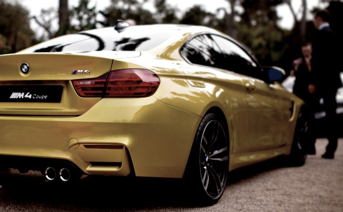 BMW M4 Coupe Rear Exhaust Carwitter 700x432 - Our thoughts - 2014 BMW M4 / M3 - Our thoughts - 2014 BMW M4 / M3