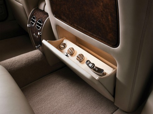Bentley Arnage Final Edition Rear Seat Storage Hip Flask - carwitter
