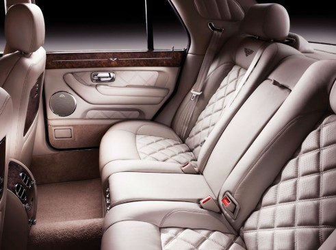 Bentley Arnage Final Edition Rear Seats - carwitter