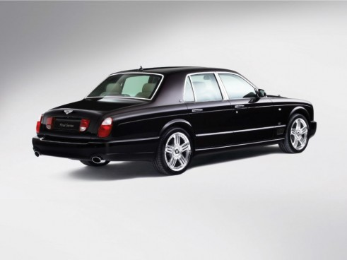 Bentley Arnage Final Edition Rear - carwitter