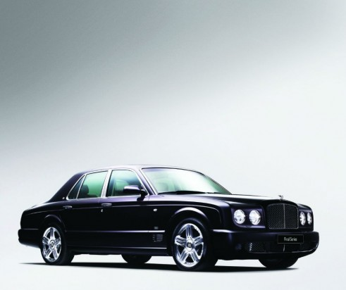 Bentley Arnage Final Edition Side Angle - carwitter