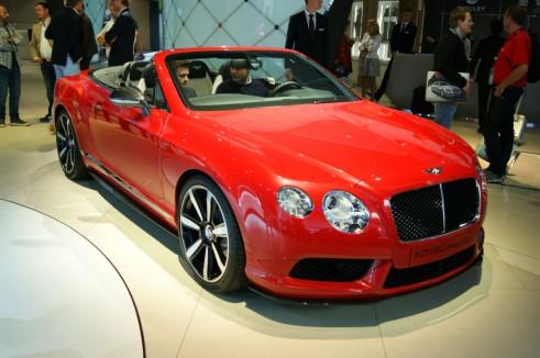 Bentley Continental GT V8 S convertible Front - Frankfurt 2013 - carwitter