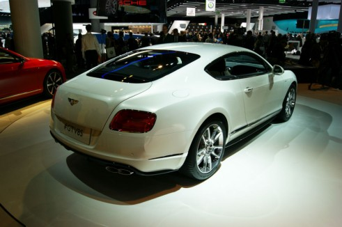 Bentley Continental GT V8 S coupe Rear - Frankfurt 2013 - carwitter.jpg